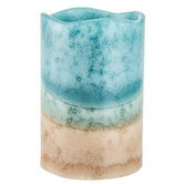 Ocean Surf Pillar LED Candle